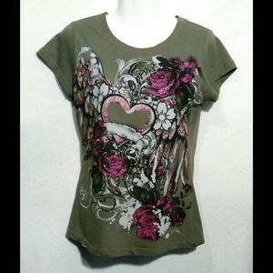 Ladies T-Shirts by Appropriate Behavior Size M
